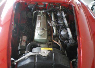 Austin Healey 3000 Mk II motor