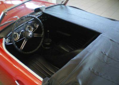Austin Healey 3000 Mk II med dække
