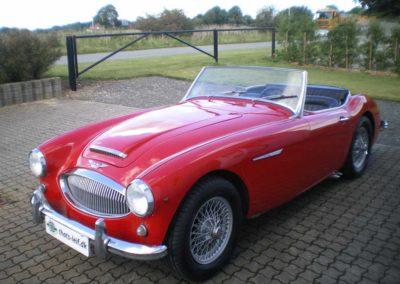 Austin Healey 3000 Mk II rød