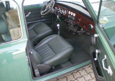 Austin mini sæder grøn