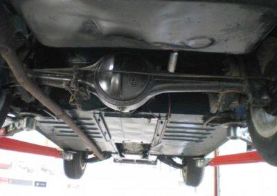 Austin-Healey Frogeye undervogn 2